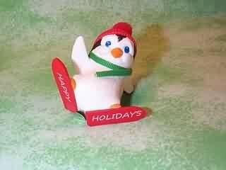 Hallmark Merry Miniature Penguin Sliding