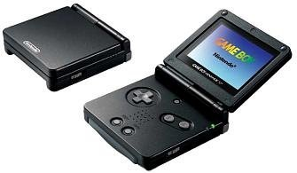Nintendo Game Boy Advance SP - Onyx