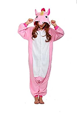 US TOP Unicorn Adult Animal Kigurumi Cosplay Costume Pajamas Onesies