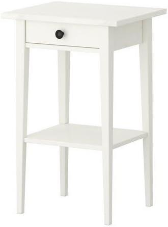 IKEA HEMNES – Mesita de Noche – 46 x 35 centímetros – Color