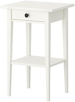 IKEA HEMNES BEISTELLTISCH in 3 Farben; aus Massivholz