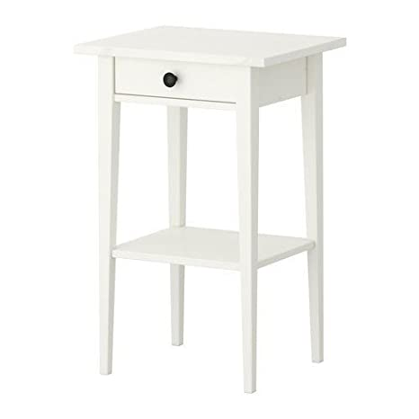 Comodino Ikea Bianco.Ikea Hemnes Comodino 46 X 35 Centimeter Colore Bianco
