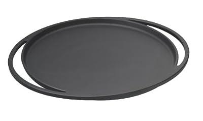 Lava ECO Enameled Cast-Iron 11-1/2 inch Multi-Purpose Pizza /Crepe/Pancake Pan, Slate Black