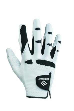 (Bionic Glove Mens Stablegrip With Natural Fit Golf Glove Regular White Right...)