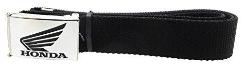 honda-motorcycle-brushed-silver-black-web-belt-15-wide