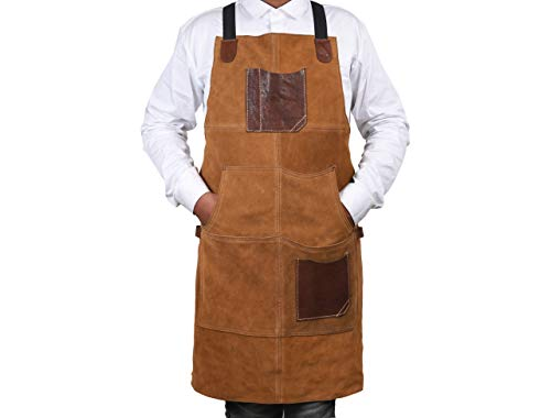 One Size Fits Utility Apron | Adjustable Cross-Back