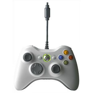 (Microsoft Xbox 360 Controller for Windows - White)