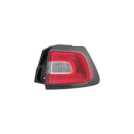 Fits 2014-2017 Jeep Cherokee Rear Tail Light Passenger Side CH2805107 - replaces 68102906AF