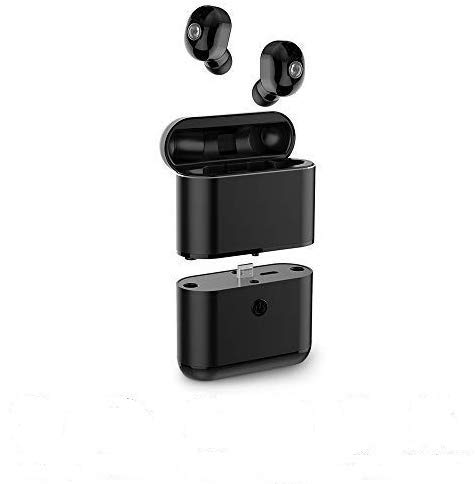 Wireless Earbuds Bluetooth 5.0 Headphones in-Ear Headset Wireless Earphones Hi-Fi 3D Stereo Sound, Black
