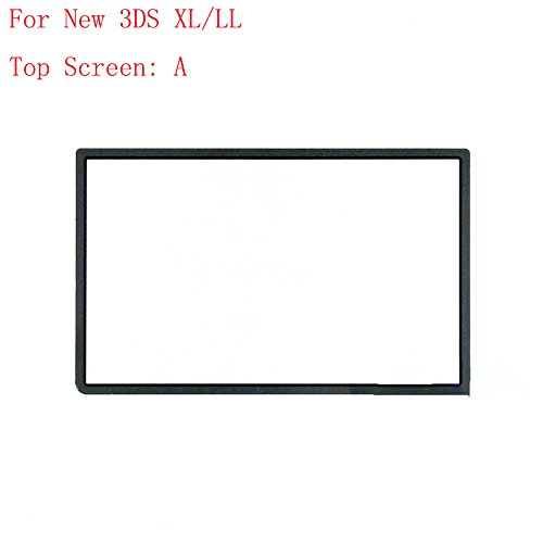 for Nintendo NEW 3DS XL / 3DS LL Top Upper LCD Screen-Black