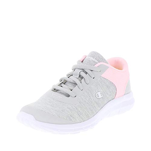 (Champion Grey Pink Girls' Performance Gusto Cross Trainer 2 Regular)