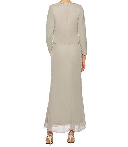 Brautmutterkleider Jaket Elegant Partykleider Charmant Damen Abendkleider Etuikleider Promkleider Gelb mit t5wX8Xxq