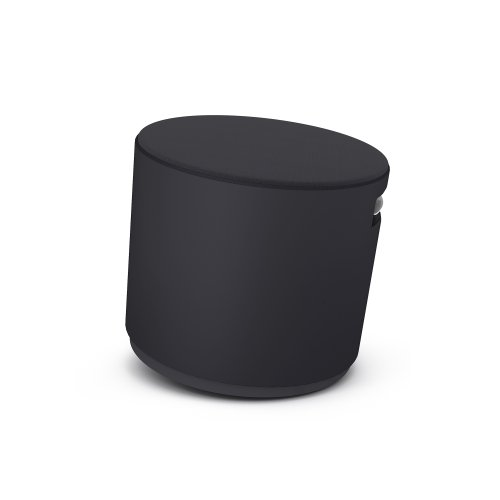 Turnstone by Steelcase Buoy, Tornado Fabric, Black by Turnstone - Steelcase
