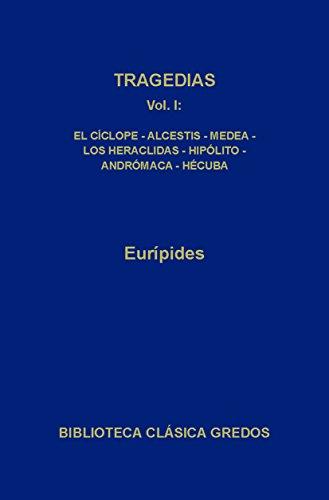 Tragedias I: 1 (Biblioteca Clásica Gredos) (Spanish Edition)