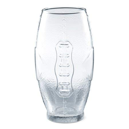 Mainstays 23-Ounce Football Cooler Glasses, Set of 6