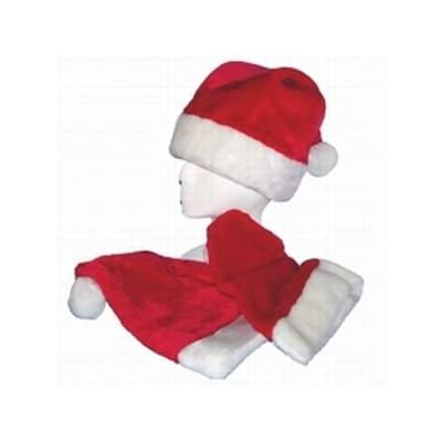 Plush Felt Santa Hat, Premium Quality Super Soft: Everything Else