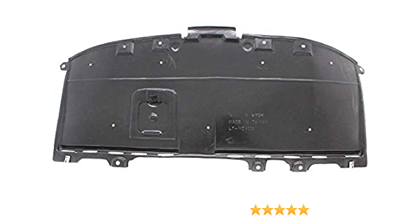 Front Engine Splash Shield Compatible with 2016-2018 Mazda CX-3 Under Cover Vacuum Form