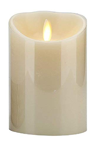 Luminara 4'' Tall Outdoor Flameless Candle with Soft Touch Coating