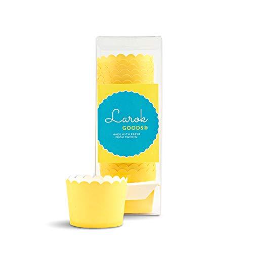 High Heat Cupcake Liners (24, Yellow) -