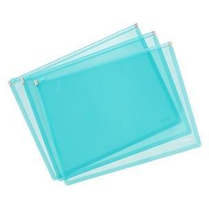 Poppin Zip Folios, Aqua ()