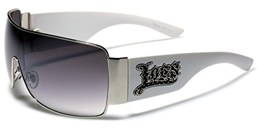 Oversized Locs Metal Rim Original Gangsta Shades Men's Hardcore Sunglasses - - Locs Australia Sunglasses