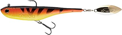 Leurre Biwaa Divinator Junior 180 mm 35 gr 12 Fire Tiger
