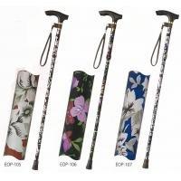こちらの商品は【 EOP-105 】のみです。 花柄が美しい折りたたみ杖。 ハッピーステッキ(折りたたみ杖高さ調節付き) 〈簡易梱包 B07RJ3RMP4