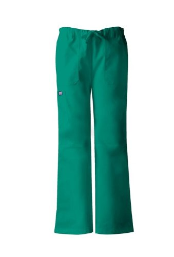Cherokee Women's Workwear Scrubs Low Rise Draw String Cargo Pant