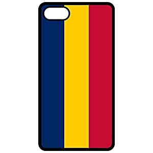 Chad Flag - Black Apple Iphone 6 (4.7 Inch) Cell Phone Case - Cover