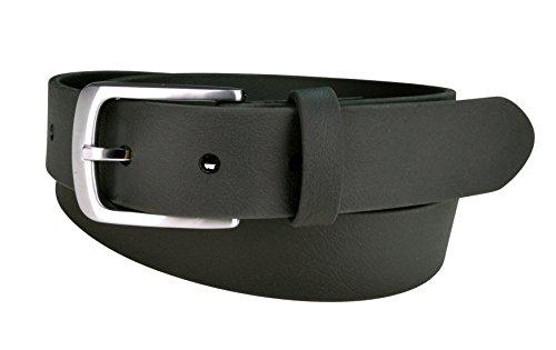 Vegan Belts for Men, Durable Tough Belt, Casual or Dressy (SPARROW Black, 38)