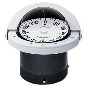 (Ritchie FN-201 NAVIGATOR FLUSH MOUNT COMPASS WHITE)