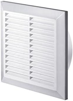 Awenta T61 - Rejilla de ventilación anti-insectos (100 mm de diámetro), color blanco: Amazon.es: Bricolaje y herramientas