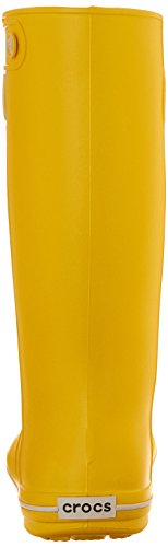 Jaunt Damen crocs Gummistiefel Crocband Women Lemon Gelb 48FFZxw