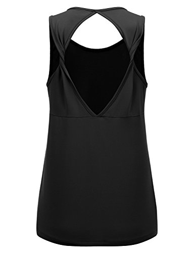 REGNA X NO BOTHER Women's Sleeveless Boat neck Multi Criss-Cross Cami Tank Tops