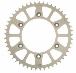 (Sunstar Steel Rear Sprocket - 52T , Sprocket Teeth: 52, Color: Natural, Sprocket Position: Rear, Sprocket Size: 520, Mat)