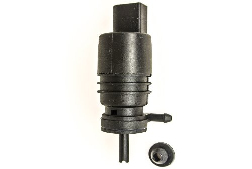 (Windshield Washer Pump with Grommet Fits Dodge RAM 1500 2500 3500)