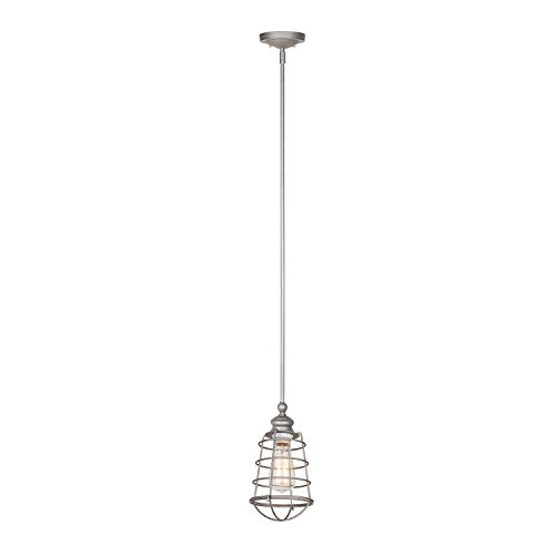 Galvanized Pendant Light Shades