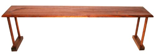 Home Basics Pine Over-the-Sink Shelf, Brown