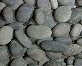 Mexican Beach Pebble, Black, ½-1''