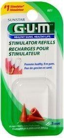 GUM Stimulator Refills -3ct by GUM