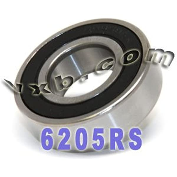 Qty. 10 6202-10-2RS two side rubber seals bearing 6202-5//8-rs ball bearings 6202-5//8 rs