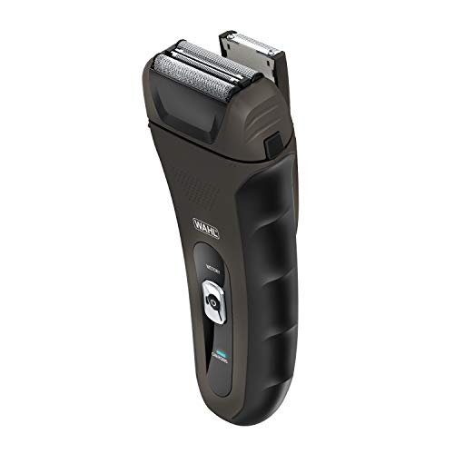 Wahl LifeProof Foil Shavers for Men, Electric Razors, Rechargeable WaterProof Wet/Dry Lithium ion with Precision Trimmers for Beard Shaving and Trimming, by the Brand used by Professionals #7061-2301