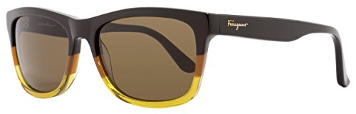 Sunglasses FERRAGAMO SF 775 S 257 BROWN - Sunglasses Ferragamo