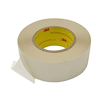 Image of 3M Scotch 96042/NAT260 96042 Double Coated Silicone Tape: 2' x 60 yd, Clear Home Improvements