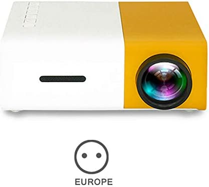 Glomixs YG300 Projector Mini Projector, Portable Theater Home ...