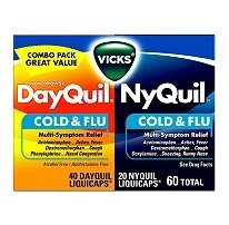 Dayquil/Nyquil Cold & Flu LiquiCaps - 60-pk.