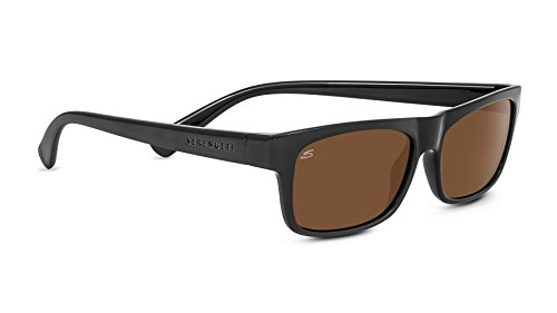 Serengeti RapAllo Lunettes de soleil RapAllo Shiny Black Polarized Drivers