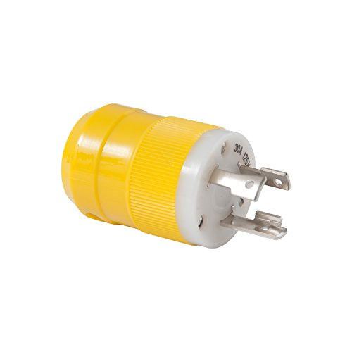 Marinco 305CRPN Locking Plug Connectors,30A, ()