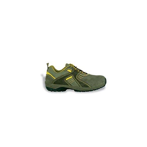 Cofra Top Spin S1P SRC–zapatos de seguridad talla 40VERDE