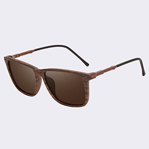gafas C2 Gafas polarizadas Oculos hombres sol de TIANLIANG04 C4 UV400 Era ESPEJO LENTES DE macho Clásica sol Tint de sol de 5WHYnn7